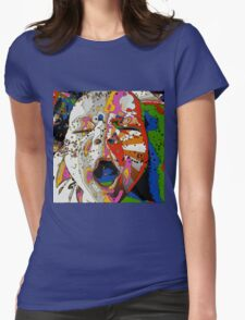 Psychedelic Baby  Womens Fitted T-Shirt