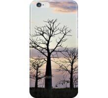 Boab Trees at Sunrise iPhone Case/Skin