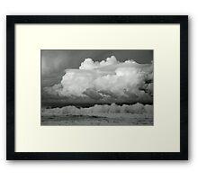 Cumulus Whitewash  Framed Print
