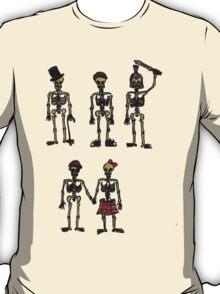 Skeletons tee shirt T-Shirt