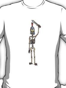 Gladiator Skeleton Tee shirt T-Shirt