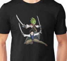 Vastra and Jenny - Black T-shirt Unisex T-Shirt