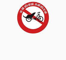 No Rickshaws Allowed, Traffic Sign, Vietnam Women's Relaxed Fit T-Shirt