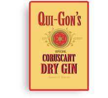 Qui Gon's Gin Canvas Print