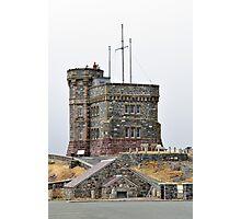 Cabot Tower, Newfoundland. Photographic Print