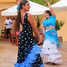 Flamenco Dancers by Roupen  Baker