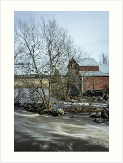 Old Mill 3 by Matti Ollikainen