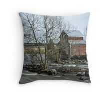 Old Mill 3 Throw Pillow