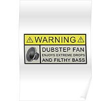 Dubstep Warning Poster