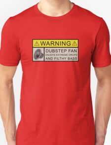 Dubstep Warning T-Shirt