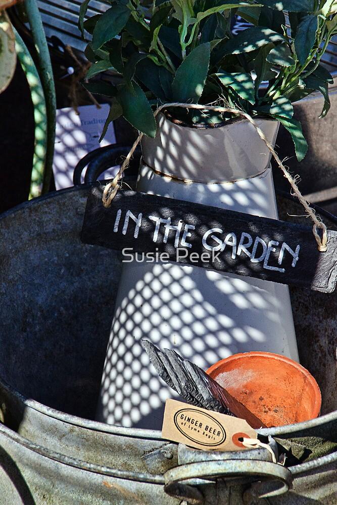 In The Garden by Susie Peek