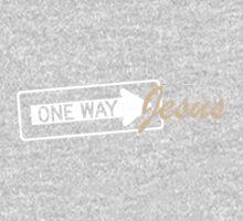 One Way Jesus One Piece - Long Sleeve