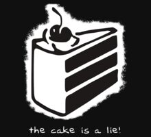 The Cake is a Lie V2 by Stephen Dwyer