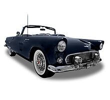 Ford - 1956 Thunderbird Roadster Convertable Photographic Print