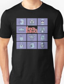 A Bunch of Robots Unisex T-Shirt