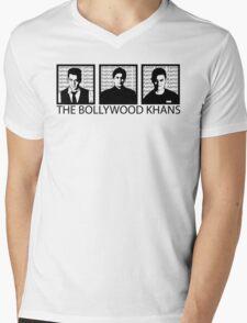 The Bollywood Khans Mens V-Neck T-Shirt