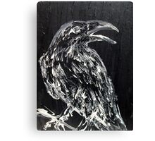 RAVEN on the BRANCH Canvas Print