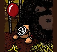 La cage du gorille by fatherkojak