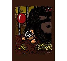 La cage du gorille Photographic Print
