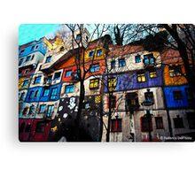 hundertwasserhaus, Wien Canvas Print