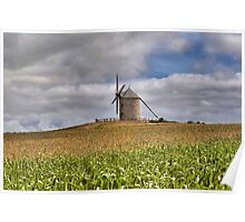 Le Moulin de Moidrey - Windmill of Moidrey Poster