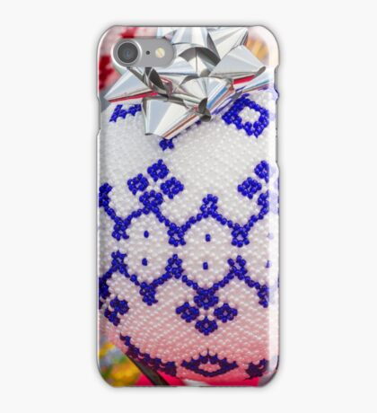 decorations for Christmas tree iPhone Case/Skin