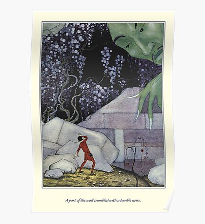Old French Fairy Tales: The Wall Crumbled Poster