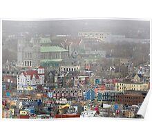 Saint John's, Newfoundland, Canada. Poster