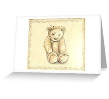 Lonely Bear Greeting Card
