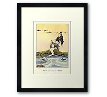 Old French Fairy Tales: In My Domain Framed Print
