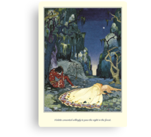 Old French Fairy Tales: The Night in the Forest Canvas Print