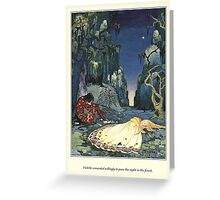 Old French Fairy Tales: The Night in the Forest Greeting Card