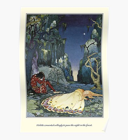 Old French Fairy Tales: The Night in the Forest Poster