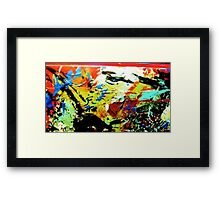 Moonlight Flight Framed Print