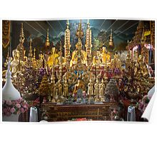 Buddhist Temple in Thailand Poster
