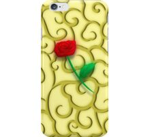 Oriental Cloud Rose iPhone Case/Skin