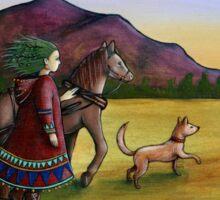 Carnivale Folk Sticker