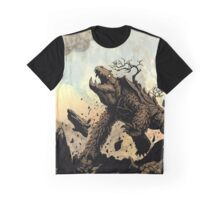 OLD MIGHTY MOUNTAINBACK - Earth Beasts Awaken creature art Graphic T-Shirt