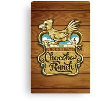 Choco Billy's Chocobo Ranch Canvas Print