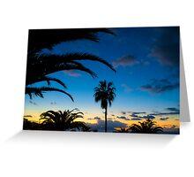Sunset in Tenerife Greeting Card