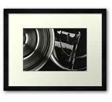 Metallic Reflections [3/8] (35mm Film) Framed Print