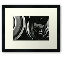 Metallic Reflections [6/8] (35mm Film) Framed Print