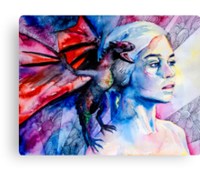 Daenerys Targaryen - game of thrones  Canvas Print