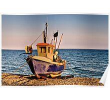 Fishing Boat Poster