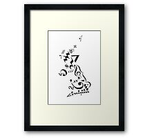 Music United Kingdom Framed Print