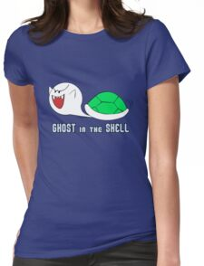 Boo in the Shell Womens Fitted T-Shirt
