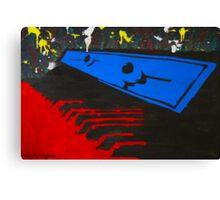 Keyboard Whirl Canvas Print