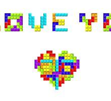 Tetris Love by Waconer