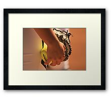 A Game of Nuance Framed Print