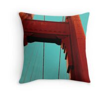 Golden Gate Throw Pillow
